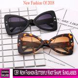 1391 óculos de sol novos da forma do nó da borboleta da forma