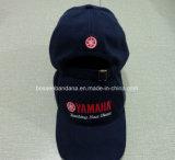 Fabrik-Erzeugnis fertigen gestickten Baumwoltwill-Schwarz-Baseballmütze-Hut mit LED-Licht kundenspezifisch an
