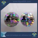 Autocollants de sécurité laser hologramme Anti-Fake étiquettes impression