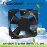 Sf18060 el rodamiento de bolas las hojas de plástico de ventilador de flujo axial de refrigeración
