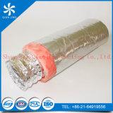 Conductos flexibles de aluminio aislados ventilados con resistencia de fuego