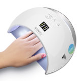 Sunuv Sun6 Smart LED ногтей лампы УФ лампы осушителя металлические нижней части ЖК-Multicolors таймера для отверждения UV гель польский лак для ногтей Art инструменты