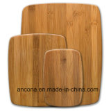 Placa de estaca de bambu da cozinha de madeira Eco-Friendly da placa de desbastamento