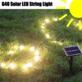 2018 nuovo! Indicatore luminoso alimentato solare della stringa di G40 LED