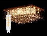 50000 heures ampoule LED G9 pour le remplacement de lampe traditionnelle en Cristal Léger