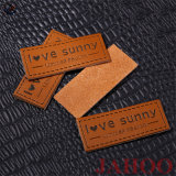 Cheap Custom Jeans Fashion Design Leather Labels clouded