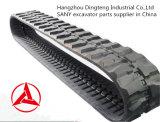 최고 질 중국에서 Sany 유압 굴착기 Sy55 Sy60를 위한 고무 궤도 사슬