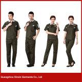 Jupe de vêtements de travail d'usure bleue industrielle d'uniformes de modèle et pantalon rugueux personnalisés (W25)