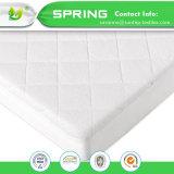 Protector impermeable superior del colchón del pesebre - bacterias del ácaro del polvo resistentes