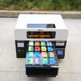 A3 UV 인쇄 기계 셀룰라 전화 상자 기계를 인쇄하는 플라스틱 투명한 명함