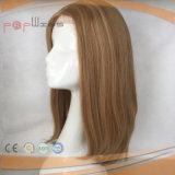 Première perruque en soie blonde de femmes (PPG-c-0119)
