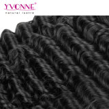 Tessuto profondo peruviano dei capelli umani dell'onda dei capelli umani