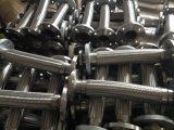 Mangueira de alta pressão do metal flexível de aço inoxidável com extremidade da flange
