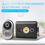 Wafuのスマートな指紋ロックのステンレス鋼電気ロックのドアエントリ情報処理機能をもったロックの低い電力のメモのスマートなホーム別荘のオフィスのアクセス制御機密保護