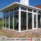 Aluminium Sunroom, Sunhouse van het Glas van de Stijl van Europa het Dubbele