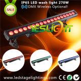 2017 het Populaire LEIDENE Licht van het Huwelijk voor de Was 18PCS*15W RGBWA+UV 6in1 CREE LEDs van de Muur