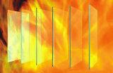Incêndio monolítico - vidro resistente