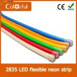 AC230V SMD2835 360の程度LEDのネオン屈曲