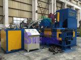 O aço inoxidável hidráulico lasca o carvão amassado que faz a máquina