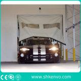倉庫のための産業PVCファブリック自己修理高速オーバーヘッドドア
