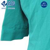 Suelta Long-Sleeve verde con cuello en V Señoras la moda blusa de Ocio