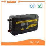 Suoer 15A 24V PWM die de AutoLader van de Batterij van de Auto (mc-2415A) laden