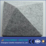 Écran antibruit décoratif de la fibre de polyester de salle 3D