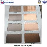 高品質のPVDによって着色されるステンレス鋼シートの金属板の壁パネル