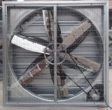 Ventilador de extração centrífuga de martelo de parede de 35 '' para estufa
