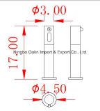 Le détecteur automatique remet à distributeur libre du savon 1000ml la salle de bains liquide fixée au mur