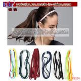 Il banco elastico di tessitura delle ragazze delle fasce cape dei capelli mette in mostra la ginnastica (P3024)