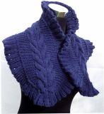 Gebildet, um den Hand knitted Schal-Schal zu bestellen hergestellt in China