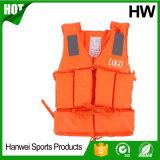 China-Fabrik-Berufssicherheits-Schwimmweste-Fliegen-Fischen-Weste-Wasser-Sport-Überlebens-Klage-Bootfahrt-Fischen-Weste-Nylongewebe und EPE Schaumgummi