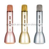 Karaoke senza fili Mic tenuto in mano del microfono Q7/Speaker/KTV di Bluetooth per Smartphone Android