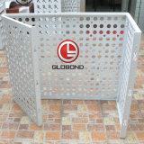 Painel de alumínio perfurados Globond/ tela perfurada de alumínio