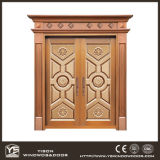 Woodwin Coppman New Design Handwork Porte de sécurité porte en cuivre