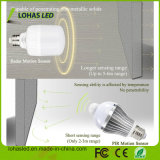 Bulbo do diodo emissor de luz do sensor de movimento do radar de T60 T80 12W 20W E27