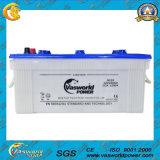 Bateria de carro recarregada seca N150ah com alta quilometragem