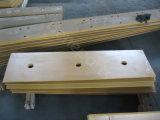 Tranchant de morceau d'extrémité, pièces de rechange, tranchant plat de chanfrein de double de bouteur des machines de construction 1u0593