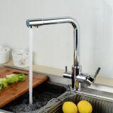 Het Chroom van de Tapkraan van de Zuiveringsinstallatie van het Water van Flg beëindigt de Mixer van de Keuken