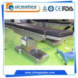 Table d'opération chirurgicale électrique avec rayons X hydraulique à bras en C (GT-OT012)