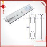 integriertes Straßenlaterneder Bewegungs-30W Solar-LED des Fühler-