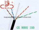 Kabel-Daten-Kabel-Kommunikations-Kabel-Verbinder-Audios-Kabel des LAN-Kabel-Utpcat6 4X2X23AWG CCA/Cu/Computer