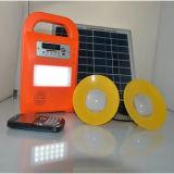 Indicatore luminoso solare dell'accampamento LED con la radio e la funzione MP3