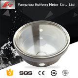 Manomètre de pression de diaphragme en acier inoxydable / jauge de pression haute température / Huile industrielle Digital