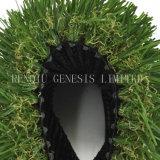 Erba artificiale del tappeto erboso sintetico verde mettente dell'erba di paesaggio di gioco del calcio