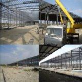 Pre dirigir el edificio de la estructura de acero para el taller y el almacén de la fábrica
