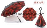 De nieuwe Paraplu van de Bescherming van de Zon Openlucht Omgekeerde met Dubbele Luifel