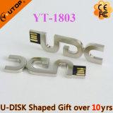 Привод вспышки USB металла нестандартной конструкции для свободно подарка (YT-1801)