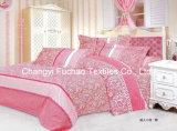 多印刷されたパターンか綿の女王はベッドカバーのパッチワークの寝具セットに合った